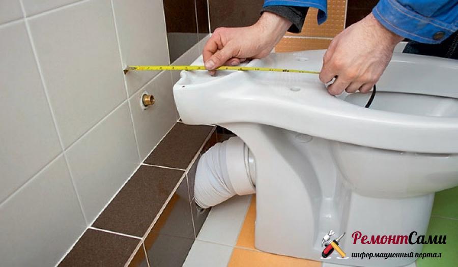 Как установить сантехнику в туалете
